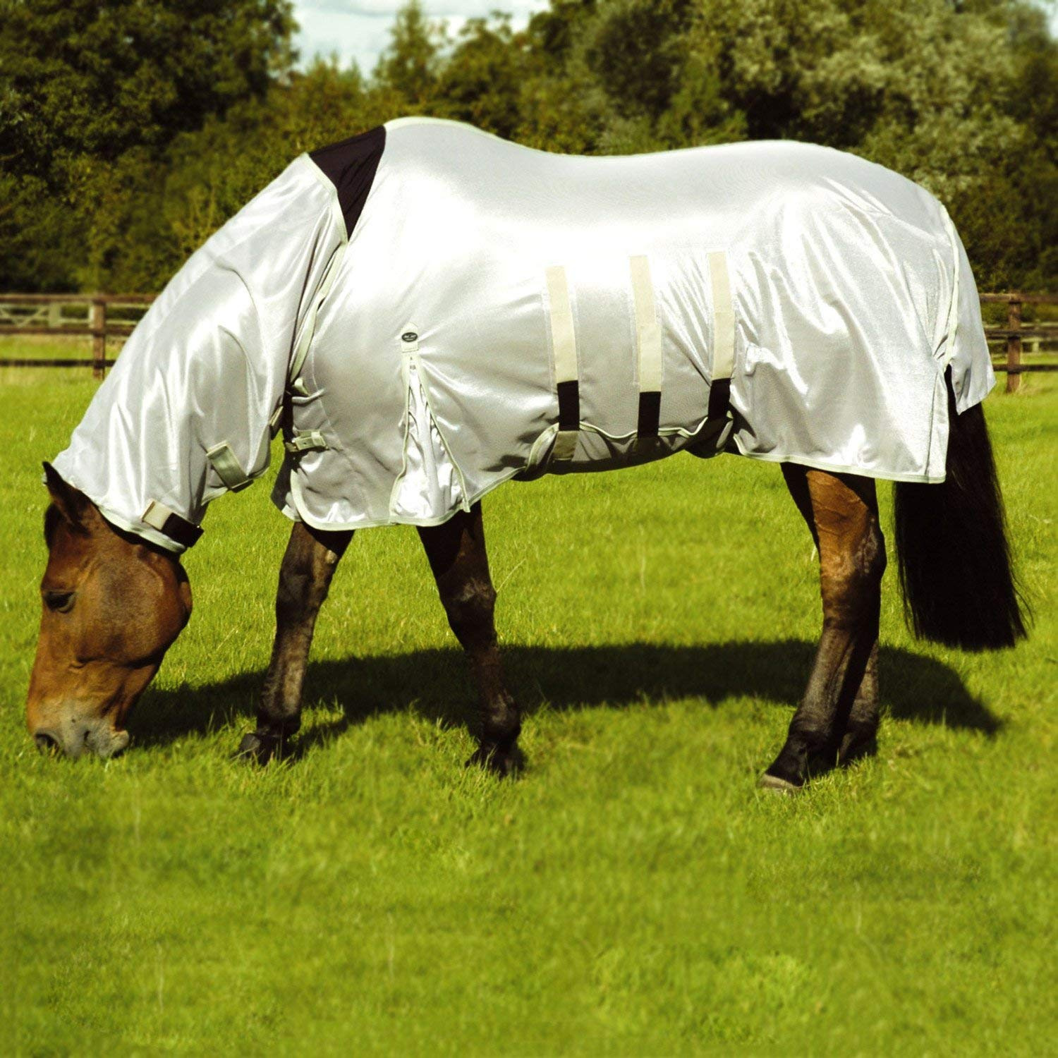 Mark Todd Ultra Combo Fly Rug 7ft Silver