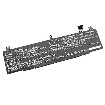 vhbw Litio polímero batería 4900mAh (15.2V) para Ordenador portátil Laptop Notebook DELL Alienware 13 R3, ALW13C: Amazon.es: Electrónica