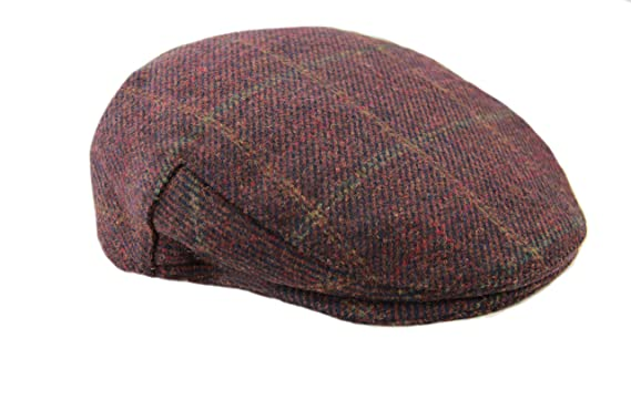 Gorgeous Unisex Wooly Tweed Flat Cap acd7a8a4330