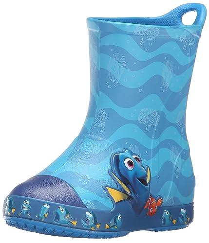 c5c52ca0e5ae crocs Bump It Finding Dory Rain Boot (Toddler Little Kid)