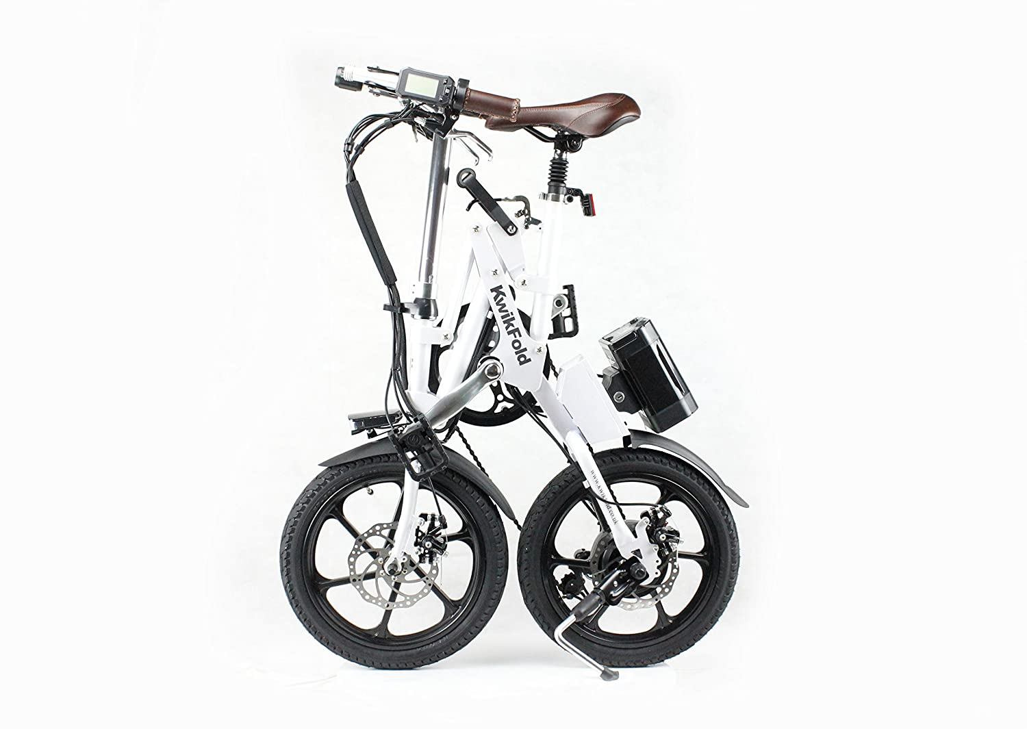 KwikFold Xite Folding Electric Bike with battery by Kwikfold: Amazon.es: Deportes y aire libre
