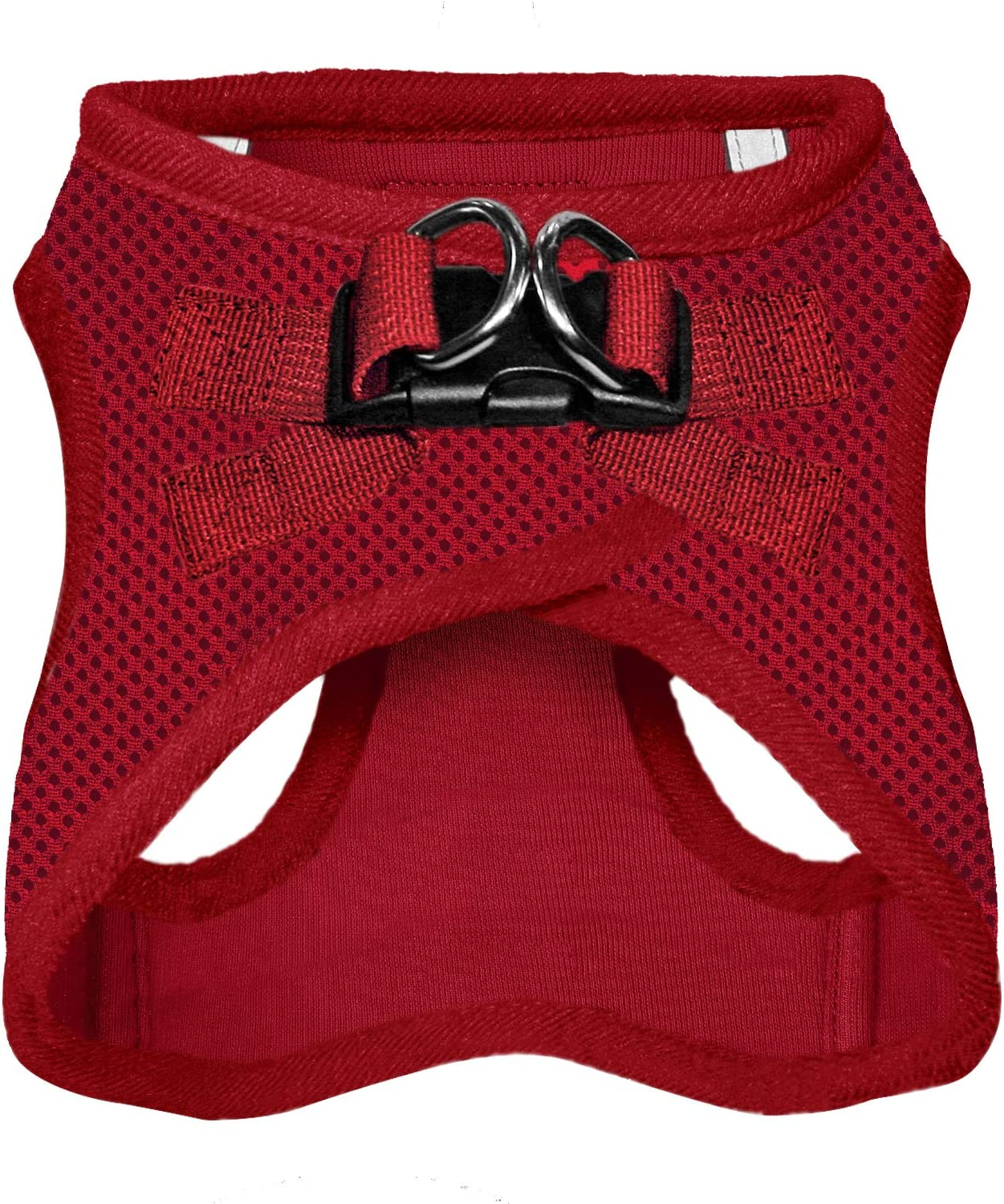 207-RDW-XS All Weather Mesh Matching Trim Best Pet Supplies Voyager Step-in Air Dog Harness Red Step in Vest Harness for Small and Medium Dogs XS Chest: 13-14.5