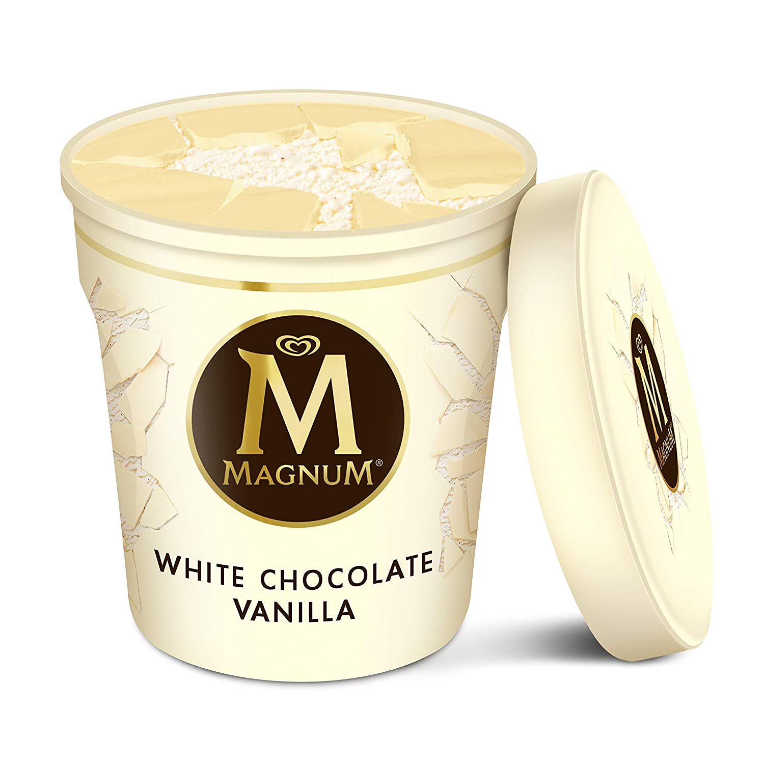 Magnum Ice Cream, White Chocolate Vanilla, 14.8 oz: Amazon.com: Grocery & Gourmet Food