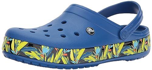 bajo precio 322a9 4da4b Crocs - Clogs Crocband Tropical IV Clog - Navy