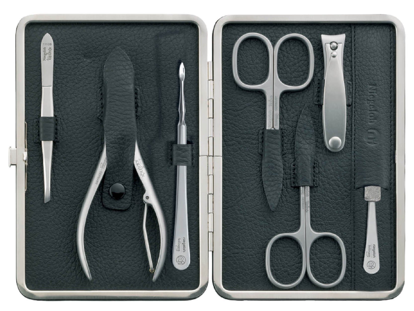 Niegeloh Topinox Capri Xl Solingen Manicure Set with Gift Box Made in Germany