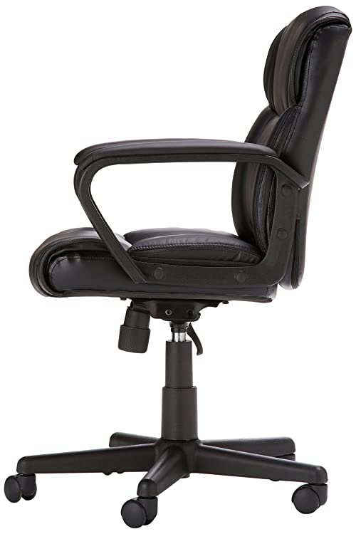 AmazonBasics Office Chair - Padded seat and back for all-day comfort