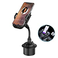 Deals on Outsolidep Gooseneck Cupholder Cell Phone Cradle w/Cup Holder