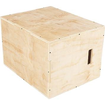 GORILLA SPORTSR Jump Box Holz Fur Plyometrisches Cross Training 60 X 50