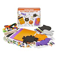 Kid Made Modern Halloween Craft Kit - Spooky Arts and Crafts Supplies for Kids