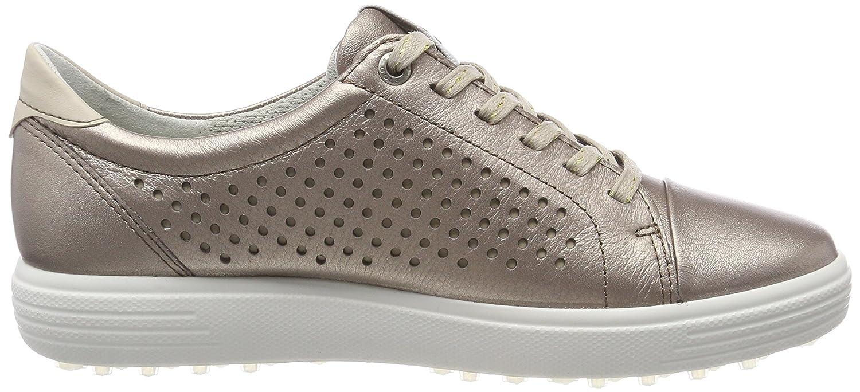 Ecco Damen Womens Casual Hybrid Perf Golfschuhe, Gold (Warm Grey 01375), 37 EU