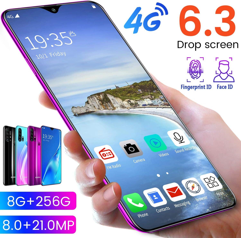 XM&LZ R30 Pro Smartphone Desbloqueado,Dual Sim Celulares ...