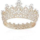 JOYPEA Tiara Crown Crystal Tiara For Women Bridal Crown Wedding Birthday Prom Queen Pageant Hair Accessories