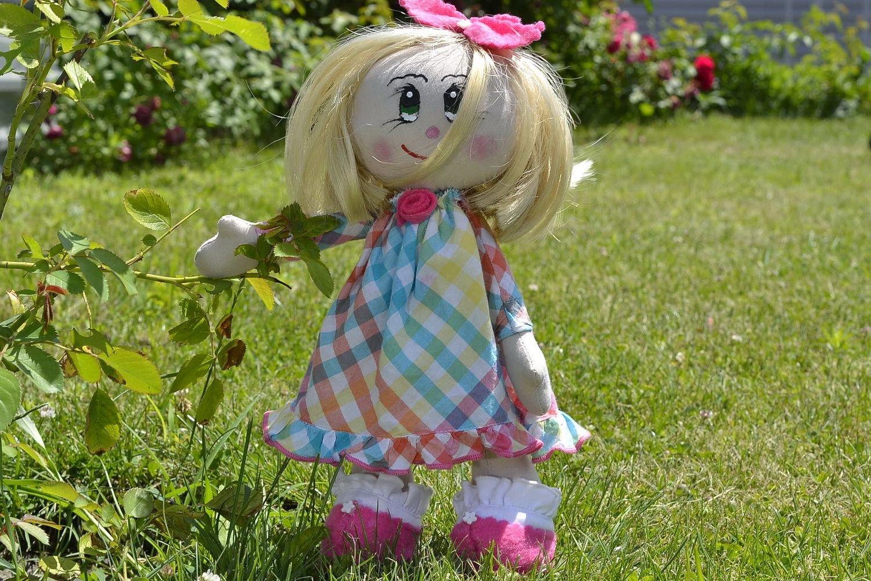 """Fabric Doll """"Dasha"""""""