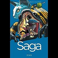Saga Vol. 5 book cover