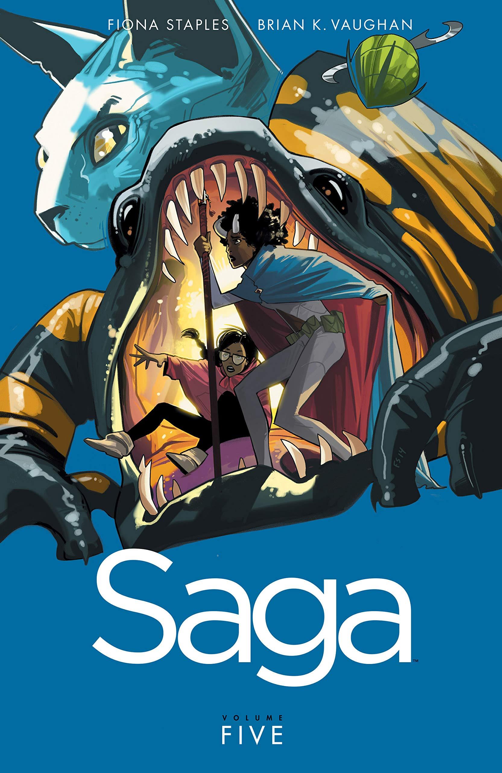 Saga Vol. 5  English Edition