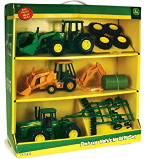 Amazon com: ERTL Toys John Deere 8R Tractor Key Chain: Toys