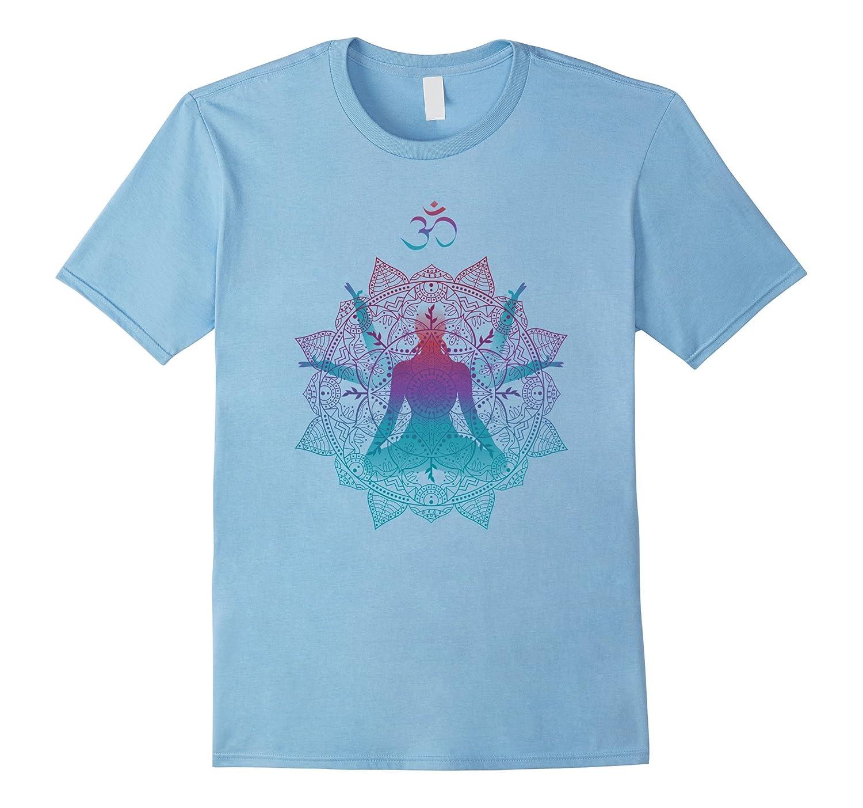 Chakras Mandala Om Yoga Meditation Shirt