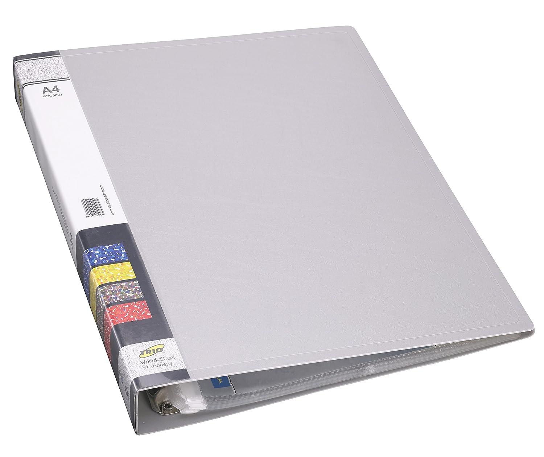 TRIO RBC500J Refillable Business Card Holder 500 Cards Grey: Amazon ...