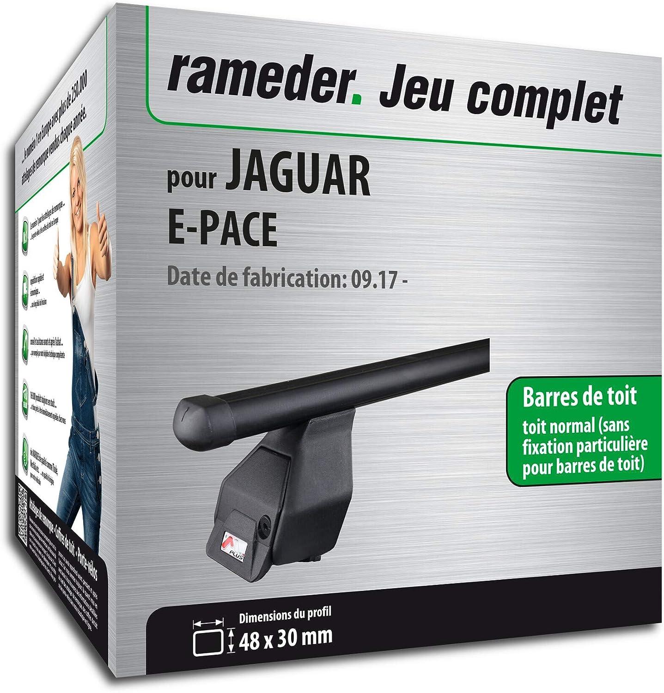 118796-38078-1-FR Rameder Pack Barres de Toit Tema pour Jaguar E-Pace