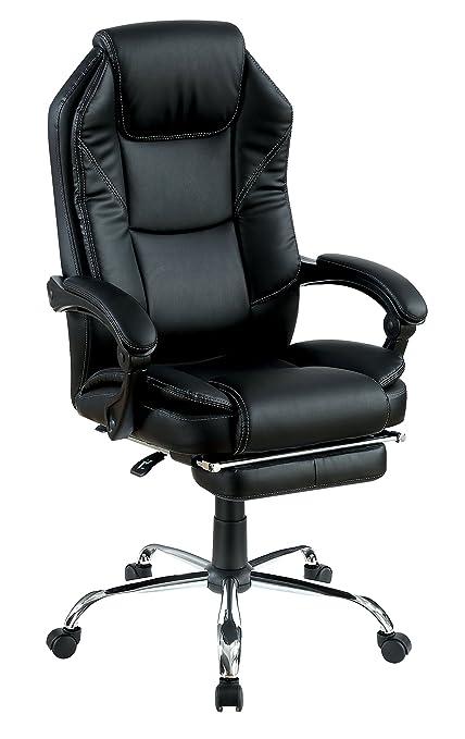 Bureaustoel Racer 200.Amazon Com Furniture Of America Dasina Plush Leatherette