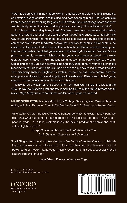 Yoga Body: The Origins of Modern Posture Practice: Amazon.es ...