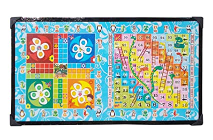 fea669bae Buy Generic KS 2-in-1 Wooden Ludo Snake and Ladder Bed Study Laptop ...