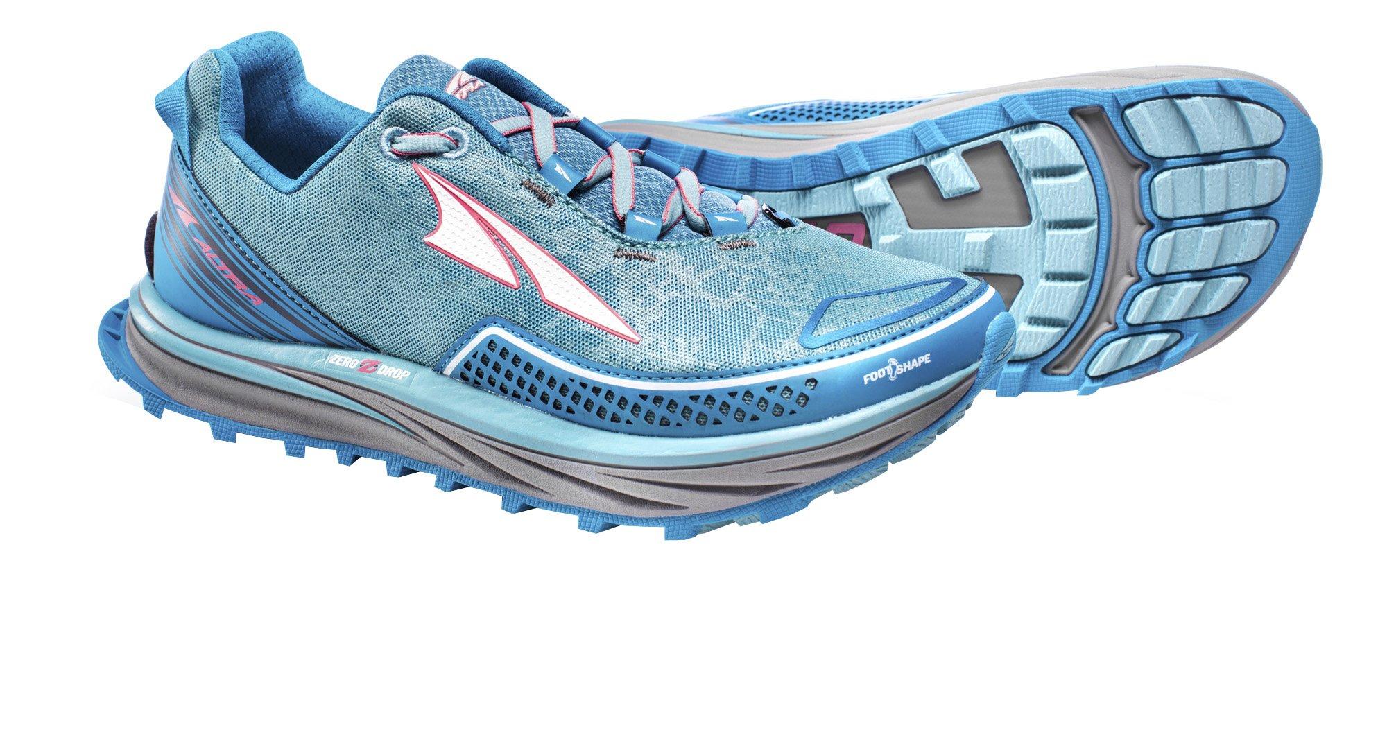 Altra AFW1757F Women's TIMP Trial Running Shoe, Blue - 6 B(M) US