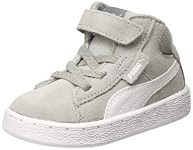Puma Unisex s 1948 Mid V Inf Quarry White Sneakers  Buy Online at ... d8b62529c