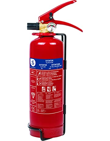 Smartwares FEX-15112 Extintor de Polvo, 1 kg