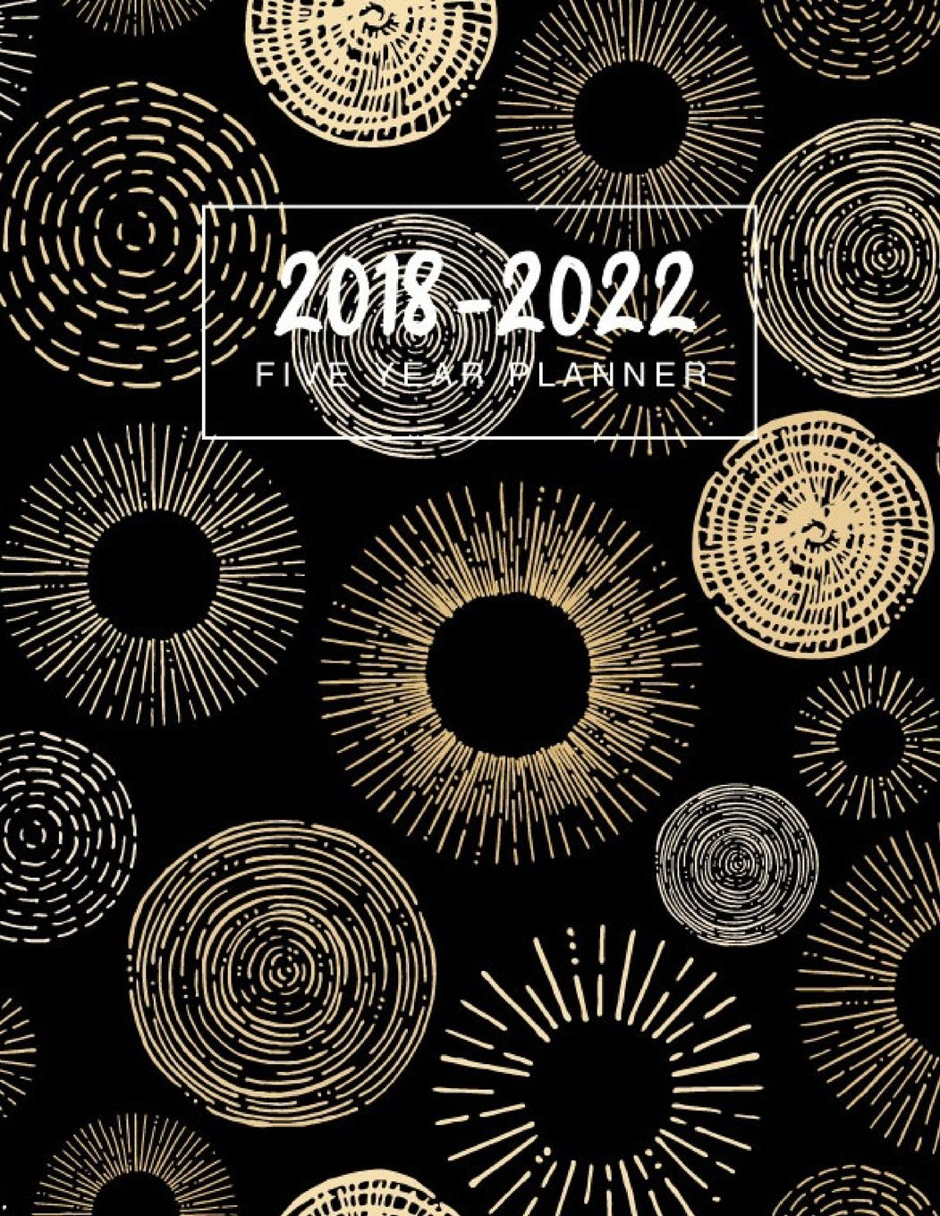 2018 - 2022 Five Year Planner: 2018 - 2022 Monthly Schedule ...