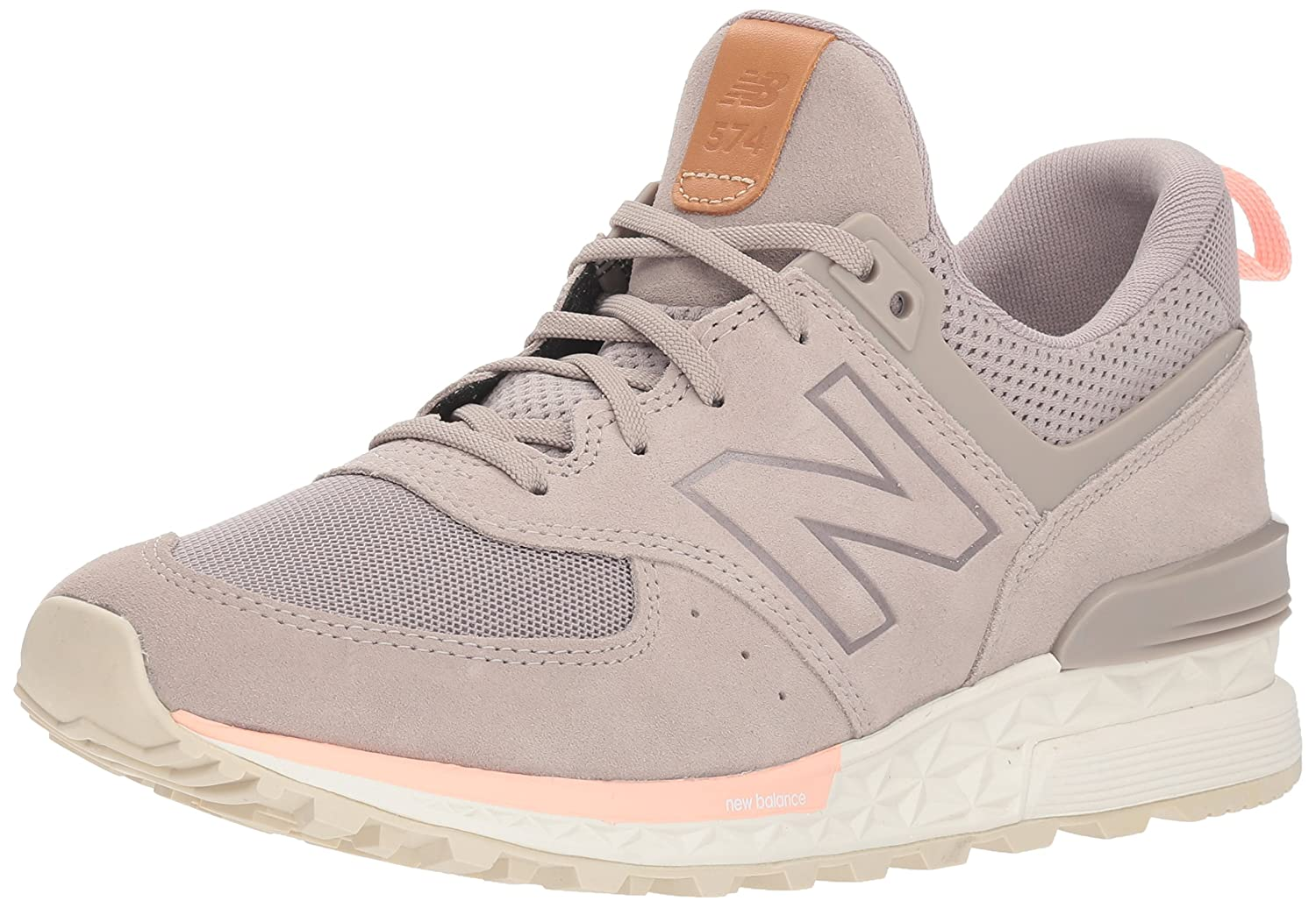 New Balance Women's 574v1 Fresh Foam Sneaker B077SHRRQD 6 D US|Flat White
