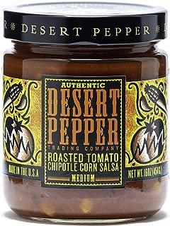 product image for Desert Pepper Roasted Tomato Chipotle Corn Salsa, Medium, 16-Ounce