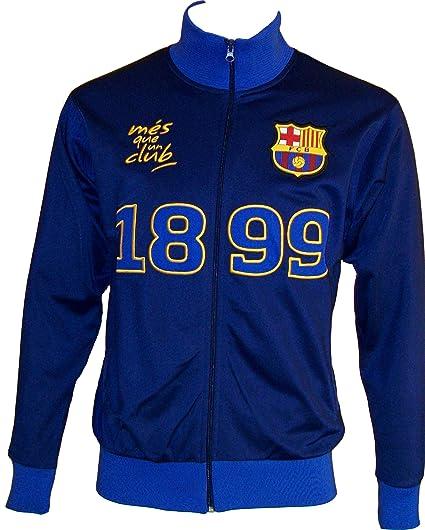 Chaqueta con cremallera oficial de FC Barcelona para hombre, talla ...