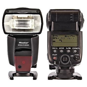Minadax – Tensiómetro de flash MX de alta calidad 585 C (LZ 42) para