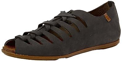 Womens Nd52 Pleasant Stella Open-Toe Sandals, Black El Naturalista