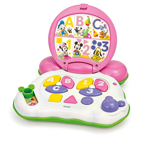 Minnie Mouse - Mi primer ordenador, juguete con sonido (Clementoni 65053)