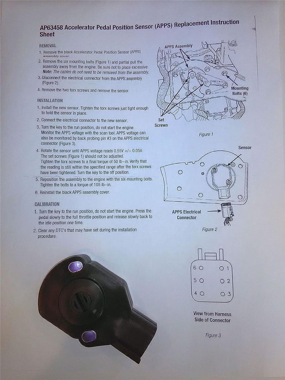 Throttle Position OE 53031576 TPS APPS Throttle Position Sensor ...