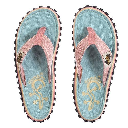 77c25c00d987 Gumbies - Islander Canvas Flip-Flops Gecko  Amazon.co.uk  Shoes   Bags
