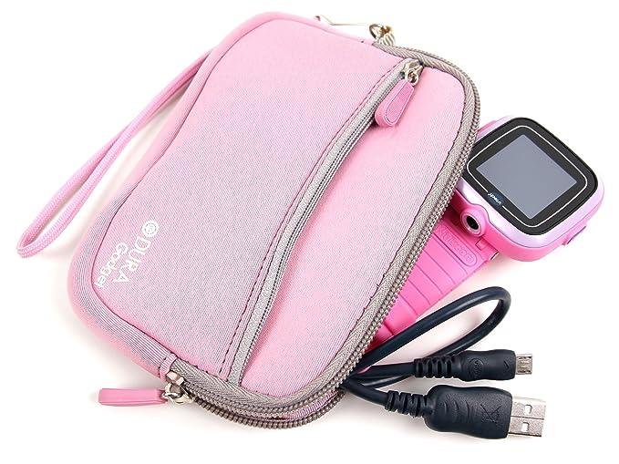 Amazon.com: DURAGADGET Pink Water Resistant Neoprene Case ...