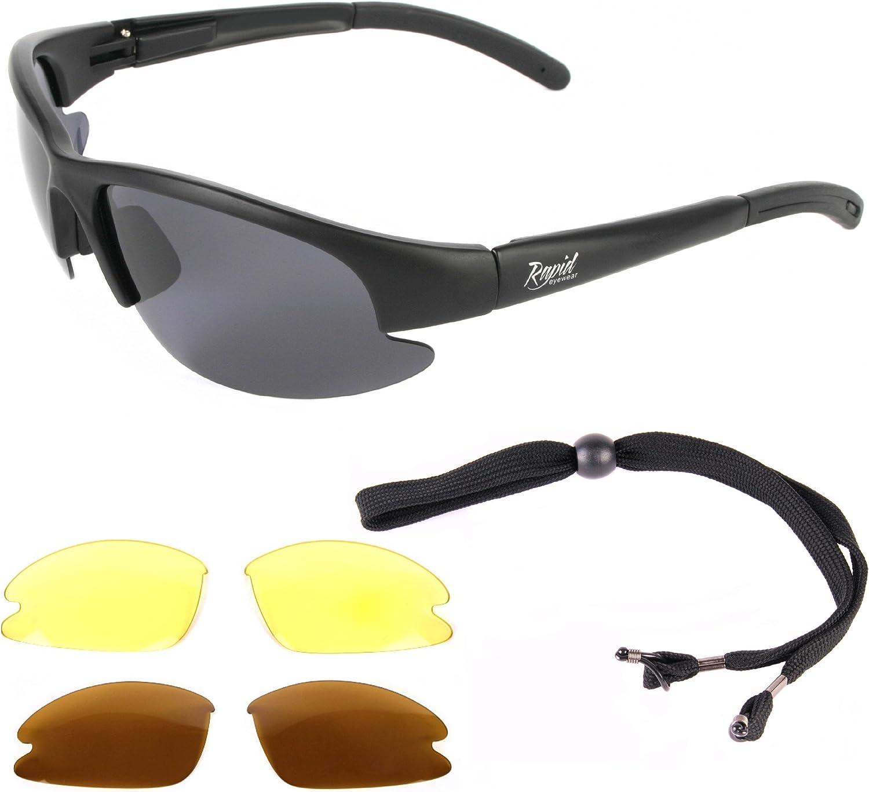 Angler Sunglasses Polarized Amber Cat 2 UV400 Lenses
