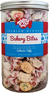 product image for 18 oz. Canister (Bakery Bites) Salt Water Taffy - Gourmet Taffy by Taffy Town