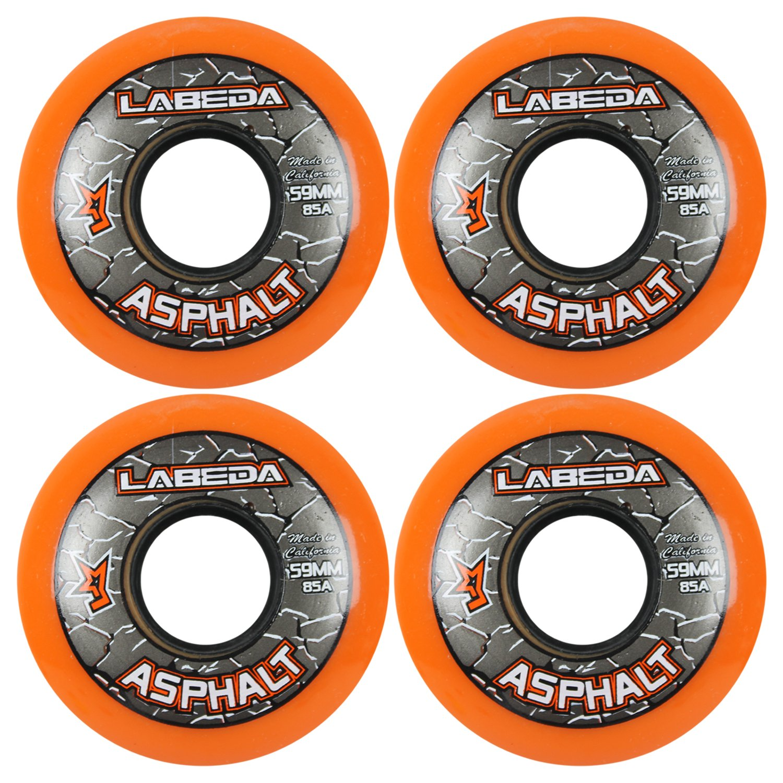 Labeda Wheels Inline Roller Hockey Gripper Asphalt 59mm X4