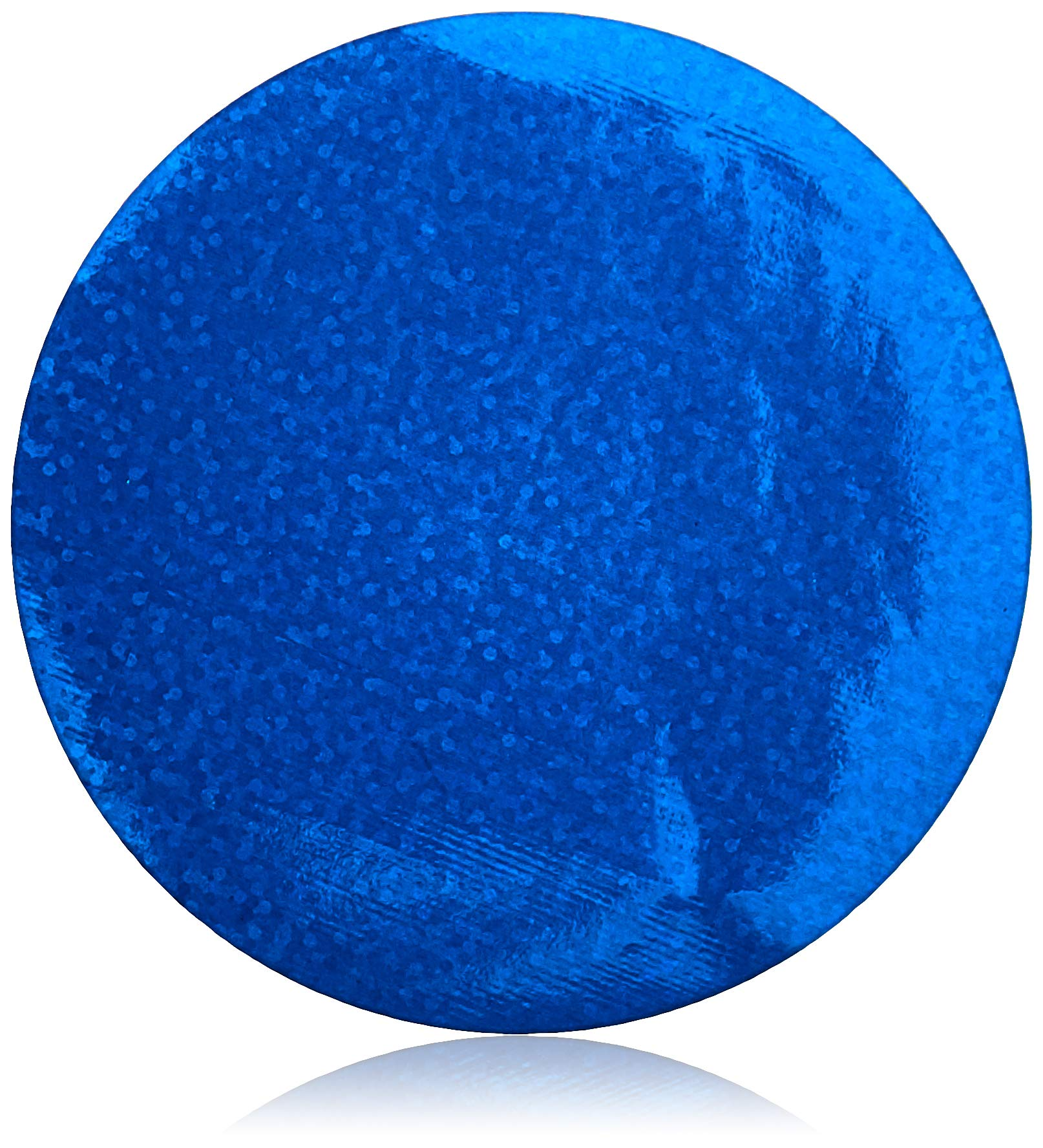 Mettoo Blue Holographic Sparkle Body Foil Pro, 200 Count