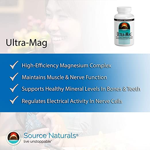 Amazon.com: source naturals ultra-mag, 1, 1: Health ...