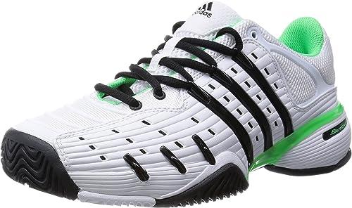 adidas - Barricade V Classic Synthetic Men's Tennis Shoes (White/Green) - EU 47 1/3 - UK 12 - EU 47 1/3 - UK 12