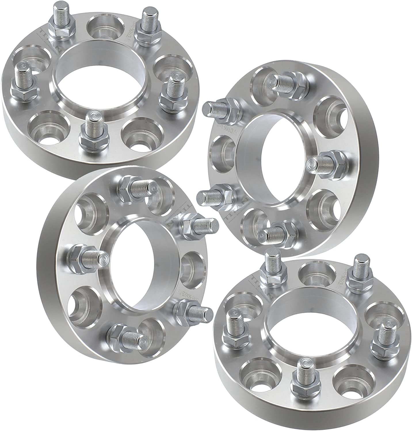 5mm Wheel Adapters 5x100 Hubcentric fits Subaru Scion 5 Lug Models 4