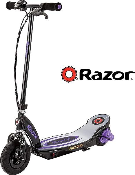 V7 Roue Arrière Avec Moyeu Moteur - Violet Razor Puissance Core E100