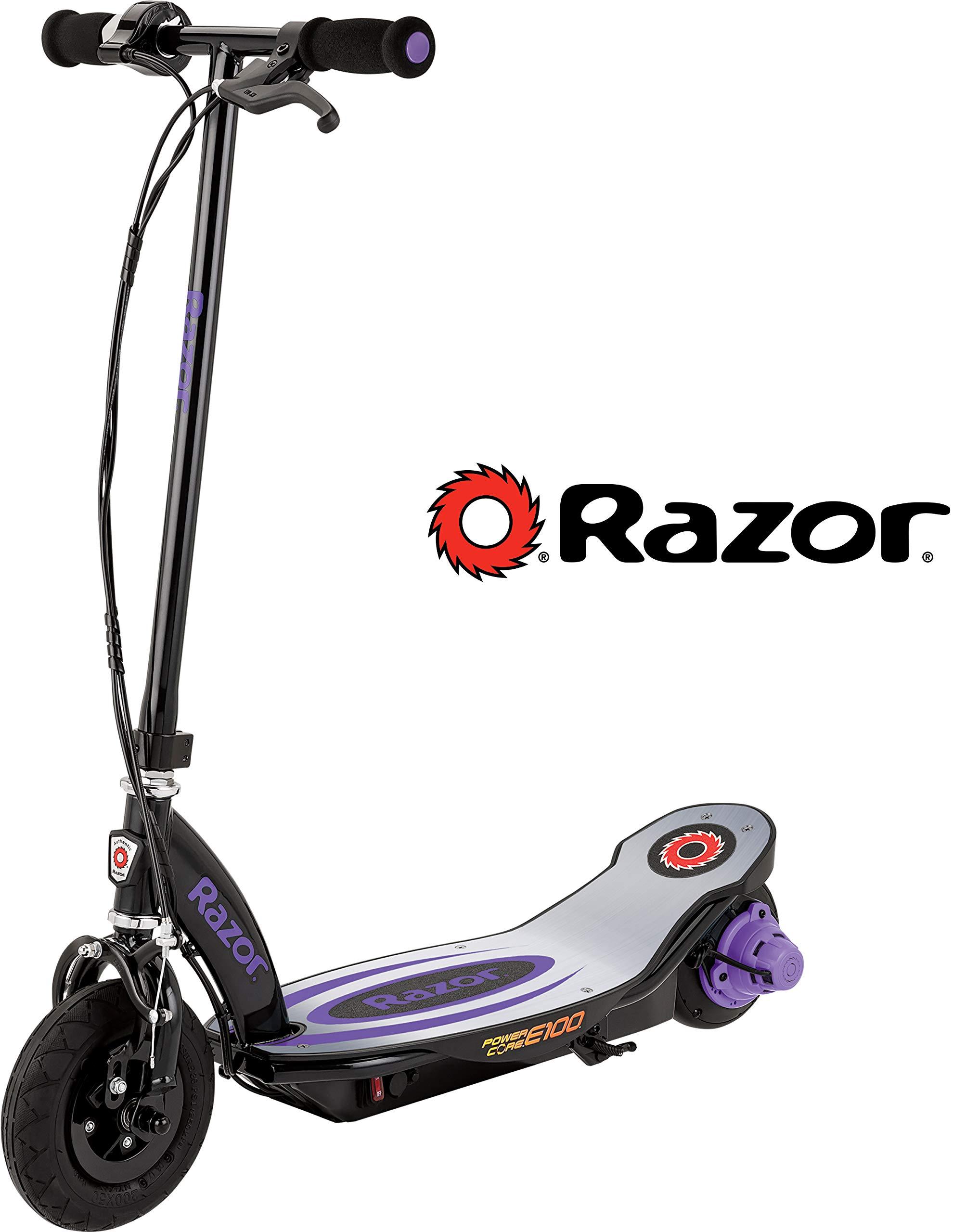 Razor Power Core E100 Electric Scooter - Aluminum