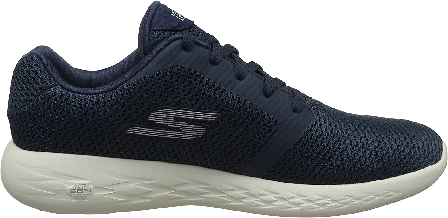 Skechers Go Run 600-Refine, Scarpe Sportive Indoor Uomo Blu Navy
