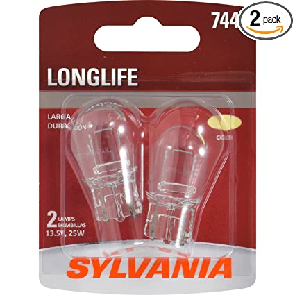 SYLVANIA 7440 Long Life Miniature Bulb, (Contains 2 Bulbs)